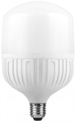 Лампа светодиодная цилиндрическая FERON 25537 E27 30W 6400K feron лампа люминесцентная feron линейная матовая g5 6w 6400k 03010