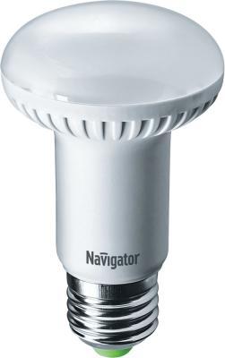 Лампа светодиодная рефлекторная Navigator NLL-R63-8-230-4K-E27 E27 8W 4000K 94 138 лампа светодиодная шар navigator nll g45 1 230 y e27 e27 1w 71830