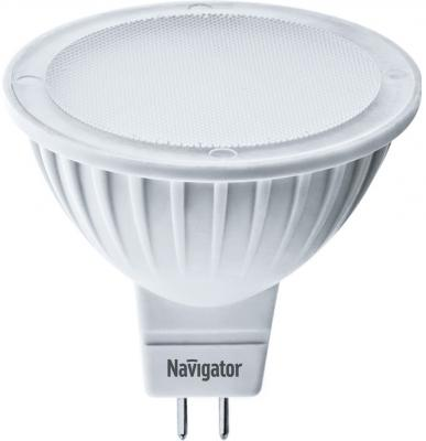 Лампа светодиодная рефлекторная Navigator 94 262 NLL-MR16-5-12-3K-GU5.3 GU5.3 3.5W 3000K лампочка navigator 94 263 nll mr16 5 230 3k gu5 3