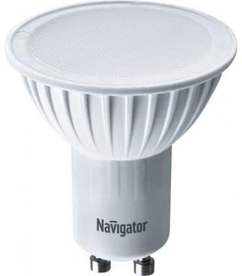 Фото - Лампа светодиодная NAVIGATOR 94 130 NLL-PAR16-5-230-4K-GU10 5вт, GU10, 4000К, 57х50мм лампа светодиодная 5вт gu10 par16 220в rev 4000к