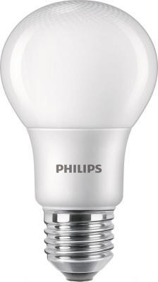 лампа светодиодная e27 10w 6500k груша матовая 4690389085550 Лампа светодиодная груша Philips Premium LEDBulb E27 8W 6500K 929001915537