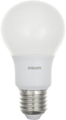 Лампа светодиодная груша Philips Б0039329 E27 8W 3000K [jingdong супермаркет] philips philips светодиодная лампа лампа 5w e27 3000k большого винта желтый цвета четыре загрузки