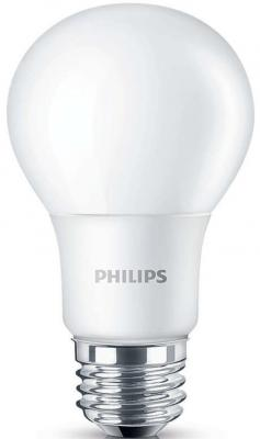 Лампа светодиодная груша Philips LEDBulb E27 12W 6500K 929001916337 смеситель для раковины grohe eurosmart new 23124002