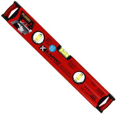 Уровень KAPRO 986-41-40РМ 400мм 0.5мм/м 3 глазка магнит цены