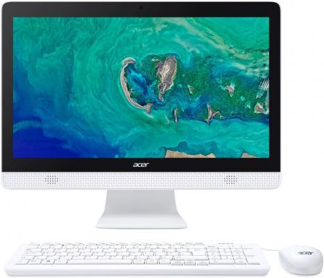 Моноблок Acer Aspire C20-820 19.5 HD+ Cel J3060/4Gb/500Gb 5.4k/HDG/DVDRW/CR/Linux/WiFi/BT/клавиатура/мышь цена