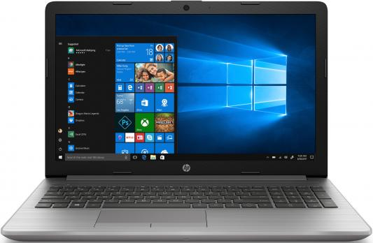 Ноутбук HP 250 G7 Core i5 8265U/4Gb/500Gb/DVD-RW/nVidia GeForce Mx110 2Gb/15.6/SVA/FHD (1920x1080)/Free DOS 2.0/silver/WiFi/BT/Cam ноутбук hp 15 da0046ur 4gk51ea intel n5000 4gb 500gb nv mx110 2gb 15 6 dvd win10 silver