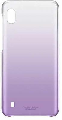 Чехол (клип-кейс) Samsung для Samsung Galaxy A10 Gradation Cover фиолетовый (EF-AA105CVEGRU) цена и фото
