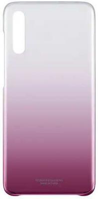 Чехол (клип-кейс) Samsung для Samsung Galaxy A70 Gradation Cover розовый (EF-AA705CPEGRU) цена и фото