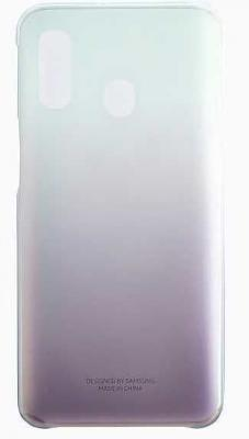 Чехол (клип-кейс) Samsung для Samsung Galaxy A40 Gradation Cover черный (EF-AA405CBEGRU)