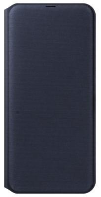Чехол (флип-кейс) Samsung для Samsung Galaxy A30 Wallet Cover черный (EF-WA305PBEGRU) чехол флип кейс samsung для samsung galaxy note 9 leather wallet cover черный ef wn960lbegru