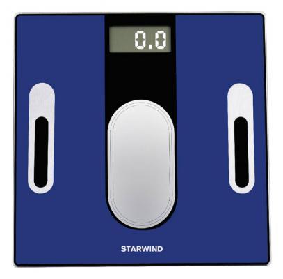 Весы напольные StarWind SSP6050 синий