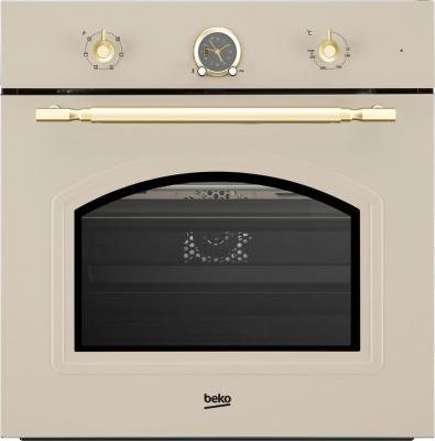 все цены на Духовой шкаф Электрический Beko OIE27207C кремовый онлайн