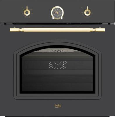 Фото - Духовой шкаф Электрический Beko OIE27207A антрацит электрический духовой шкаф beko ore27205c
