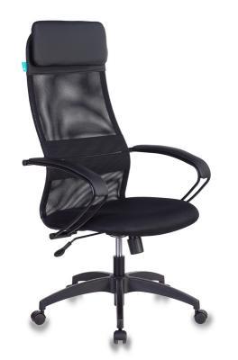 Картинка для Кресло руководителя Бюрократ CH-608/BLACK чёрный