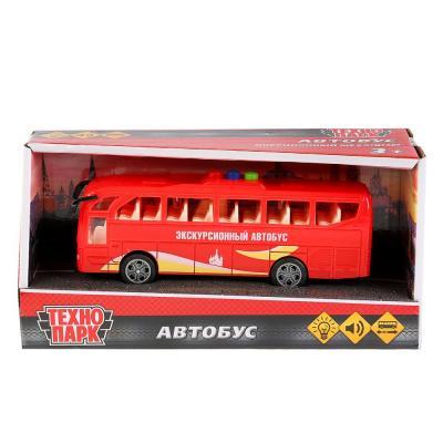 Автобус ТЕХНОПАРК 1576685-R красный игрушка технопарк школьный автобус x600 h09007 r