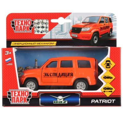 Машинка ТЕХНОПАРК УАЗ Patriot оранжевый SB-17-81-UP-EX-WB