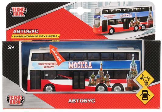 Автобус ТЕХНОПАРК CT10-054-2 разноцветный игрушка технопарк школьный автобус x600 h09007 r