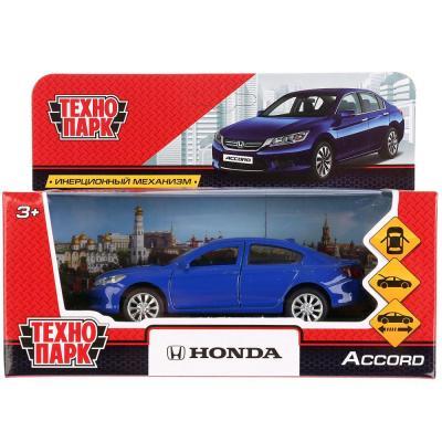 Машинка ТЕХНОПАРК Honda Accord синий машинка технопарк грузовик 258633