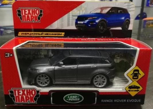Инерционная машинка ТЕХНОПАРК Land Rover Range Rover Evoque серый