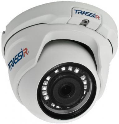 Фото - Видеокамера IP Trassir TR-D8141IR2 2.8-2.8мм цветная корп.:белый видеокамера ip trassir tr d2121ir3 1080p 2 8 мм белый
