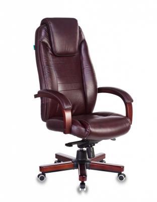 Кресло руководителя Бюрократ T-9923WALNUT/BROWN коричневый