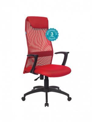 Кресло руководителя Бюрократ KB-8N/R/TW-97N красный кресло руководителя бюрократ kb 8 синий