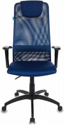 Кресло руководителя Бюрократ KB-8N/DB/TW-10N синий TW-05N TW-10N сетка кресло руководителя бюрократ kb 8 синий