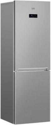 Фото - Холодильник Beko RCNK356E20S серебристый (двухкамерный) двухкамерный холодильник hitachi r vg 472 pu3 gbw