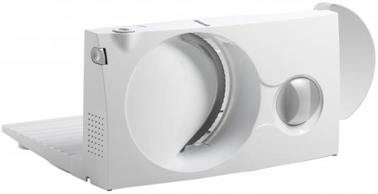 цена на Ломтерезка Gorenje R401W 110Вт (нарезка до 17мм) белый