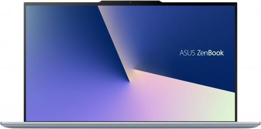 Ноутбук ASUS Zenbook S13 UX392FA-AB007T 13.9 1920x1080 Intel Core i7-8565U 1024 Gb 16Gb Bluetooth 5.0 Intel UHD Graphics 620 голубой Windows 10 90NB0KY1-M00500 ноутбук asus zenbook 13 ux331ual eg066r 13 3 1920x1080 intel core i7 8550u 1024 gb 16gb intel uhd graphics 620 синий windows 10 professional 90nb0ht3 m03280
