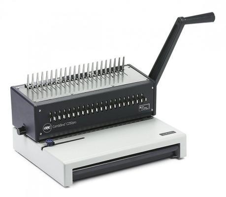 Переплетчик GBC CombBind C250 Pro (IB271403) A4/перф.20л.сшив/макс.450л./пластик.пруж. (9-51мм)