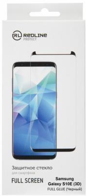 Защитное стекло для экрана Redline черный для Samsung Galaxy S10e 1шт. (УТ000017174) redline защитное стекло redline для galaxy a5 2016