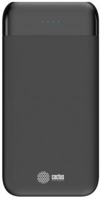 Картинка для Мобильный аккумулятор Cactus CS-PBFSFL-10000 Li-Pol 10000mAh 1A+2.4A графит 2xUSB