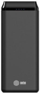 Картинка для Мобильный аккумулятор Cactus CS-PBFSST-20000 Li-Pol 20000mAh 2A+2.4A графит 2xUSB