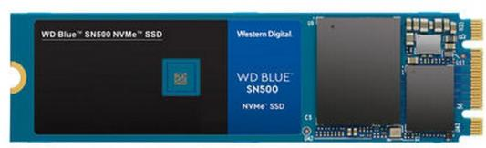 Накопитель SSD WD Original PCI-E x2 500Gb WDS500G1B0C Blue M.2 2280 цена и фото