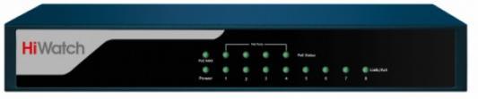 Коммутатор Hikvision HiWatch DS-S804P коммутатор hikvision hikvision ds 3e0109p e 9 ports 10 100mbps