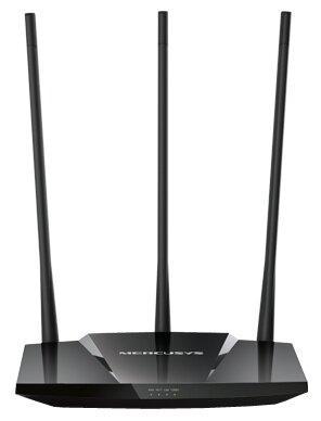 Беспроводной маршрутизатор Mercusys MW330HP 802.11bgn 300Mbps 2.4 ГГц 3xLAN черный цена