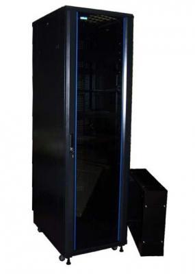 Картинка для Шкаф серверный Lanmaster Business Advanced TWT-CBA-42U-6X6-00 42U 600x600мм без пер.дв. без задн.дв. 2 бок.пан. 800кг черный