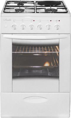 Плита Комбинированная Лысьва ЭГ 1/3г14 М2С-2у белый (стеклянная крышка) плита газовая лысьва гп 400 м2с 2у белый стеклянная крышка