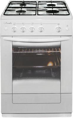 Плита Комбинированная Лысьва ЭГ 401 М2С-2у белый (стеклянная крышка) плита газовая лысьва гп 400 м2с 2у белый стеклянная крышка