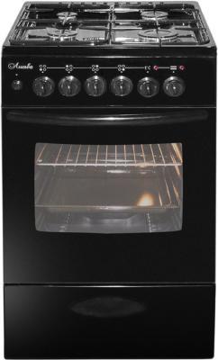 Плита Комбинированная Лысьва ЭГ 401 МС-2у черный (без крышки) реш.чугун