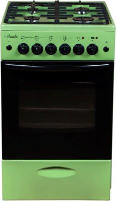 Комбинированная плита Лысьва ЭГ 401 МС-2у зелёный
