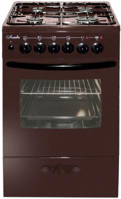 Плита Комбинированная Лысьва ЭГ 404 МС-2у коричневый (без крышки) цена