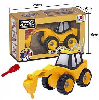 Конструктор best toys Трактор-конструктор конструктор alatoys конструктор каталка трактор малый