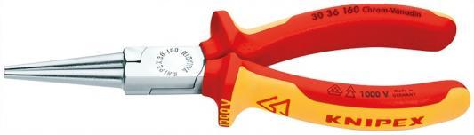 цена на Утконосы KNIPEX KN-3036160 длинногубцы хромированные 160mm