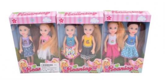 Купить Набор кукол Наша Игрушка Куклы-подружки 14 см, пластмасса, Классические куклы и пупсы