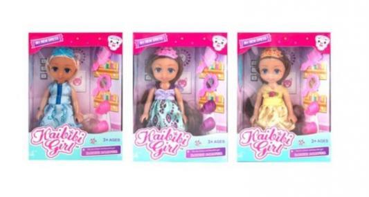 Купить Кукла Наша Игрушка Куколка-принцесса Kaibibi 15, 2 см, пластмасса, Классические куклы и пупсы