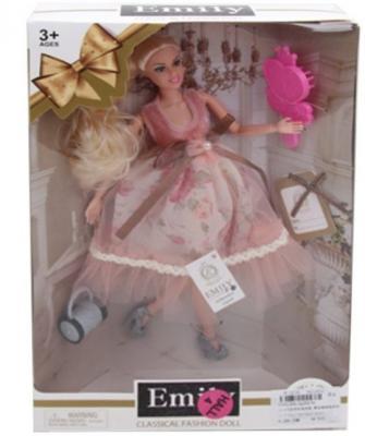 Купить Кукла Наша Игрушка Кукла Эмили 29 см шарнирная, пластмасса, Классические куклы и пупсы