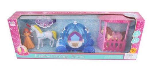 Игровой набор Наша Игрушка Игровой набор с каретой игровой набор наша игрушка иллюзион