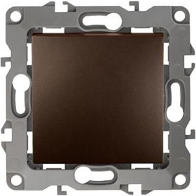 Выключатель ЭРА 12-1101-13 10АХ-250В, IP20, Эра12, бронза